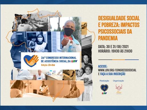 """Evento Internacional de Assistência Social vai discutir o tema """"Desigualdade social e pobreza"""""""