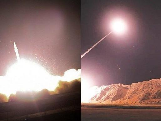 Irã dispara mísseis contra alvos norte-americanos no Iraque