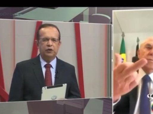 Ao vivo, Ney faz gesto obsceno ao se referir a Zé Maranhão; assista