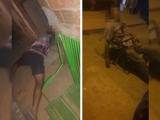 Homens são assassinados com tiros de arma de fogo na cidade de Lagoa