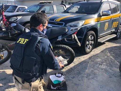 Casal é preso pela PRF com 1kg de maconha em João Pessoa