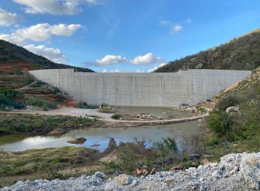 Governo conclui a barragem Retiro no município de Cuité e entrega adutora até dezembro