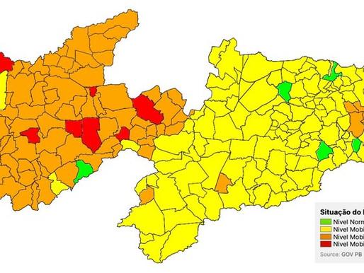 Plano Novo Normal: 15ª avaliação aponta aumento no número de municípios em bandeira laranja