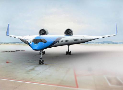 Pesquisadores testam com sucesso protótipo de avião futurístico 'Flying-V'