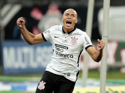 Paraibano faz primeiro gol na estreia pelo Corinthians e chora ao falar do bairro de Mandacaru