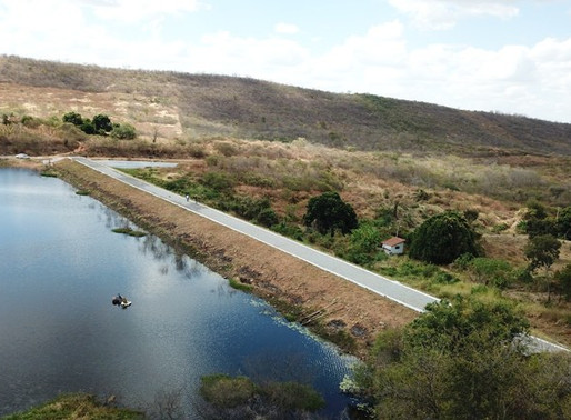 Governo conclui obras de manutenção de barragens em Uiraúna e Aguiar