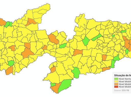 8ª avaliação do Plano Novo Normal aponta mudança de bandeira em 28 municípios