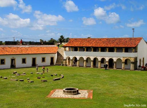 Fortaleza de Santa Catarina, em Cabedelo, é incluída em programa de concessões à iniciativa privada