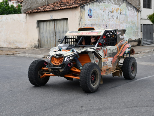 São José de Piranhas recebe passagem da etapa do Rally dos Sertões