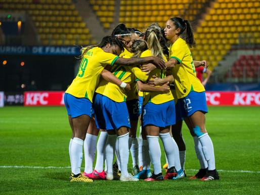 CBF agenda para setembro dois amistosos da seleção brasileira feminina contra a Argentina na Paraíba