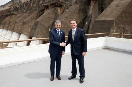 Bolsonaro irá se encontrar com presidente do Paraguai
