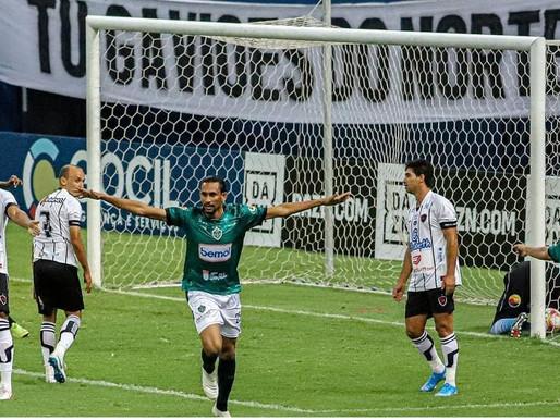 Botafogo-PB perde para o Manaus FC por 3 a 2, fora de casa, e permanece na zona de rebaixamento