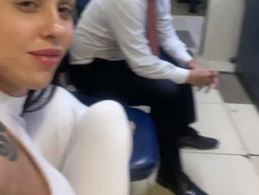 Mãe de Henry Borel fez selfie quando foi prestar depoimento