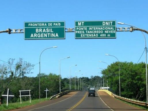 Argentina prorroga fechamento de fronteira com Brasil para conter variante da covid-19