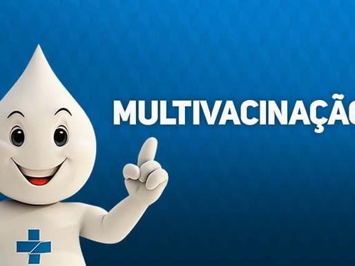 Dia D da Campanha de Multivacinação é neste sábado