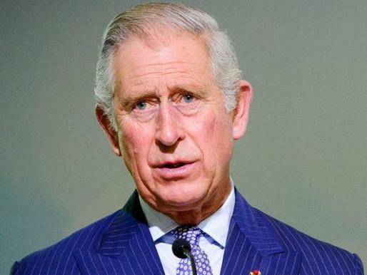 Príncipe Charles é diagnosticado com Coronavírus