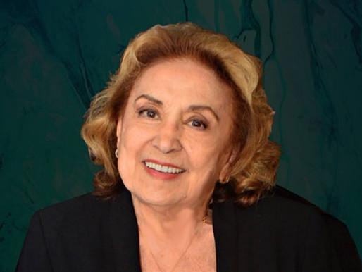 Atriz Eva Wilma é internada em SP com quadro de pneumonia