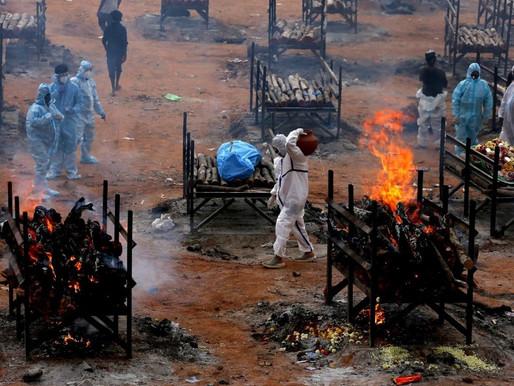 Pelo 2º dia consecutivo, Índia tem recorde mundial de casos de Covid-19