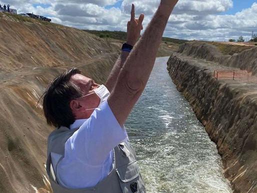 Presidente Jair Bolsonaro visita São José de Piranhas, na próxima quinta-feira (21)