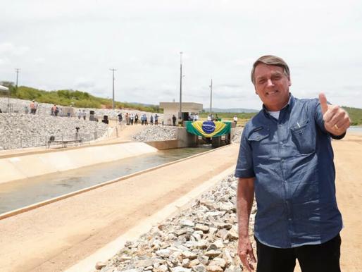 Bolsonaro na Paraíba: confira a agenda do presidente na cidade de São José de Piranhas