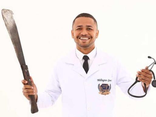 Jovem que era cortador de cana se forma em Medicina