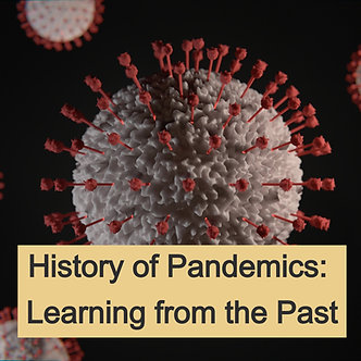 10.5 CME: History of Pandemics Learning from the Past - ARDMS, ARRT, CCI Cert