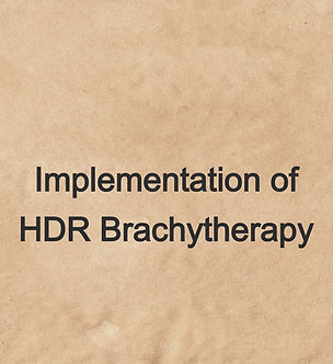 08.5CE: Implementation of HDR Brachytherapy - NMTCB & ARRT(NMT)(THR) | Try&Buy