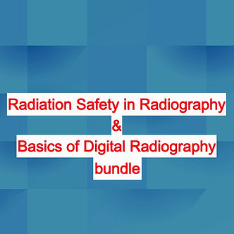 24CE: Basics of Digital Radiography & Radiation Safety bundle