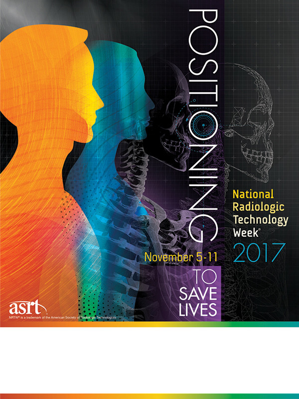 National Radiologic Technology Week theme poster 2017