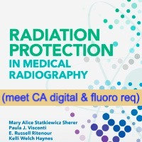 24CE: Rad Protection in Medical Radiography 8th Ed. w 4 hrs of digital & fluoro