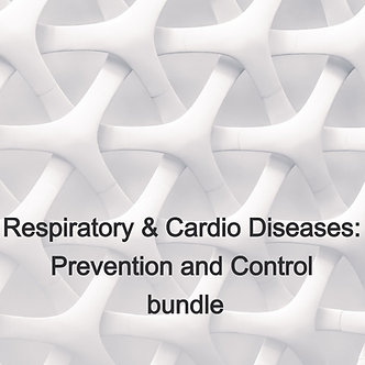 10 AARC CRCE: Respiratory & Cardio Diseases Prevention Control bundle, $5.9/CEU