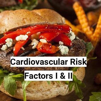 36+ CCI CEU, ARRT CE: Cardio Risk Factors I & II