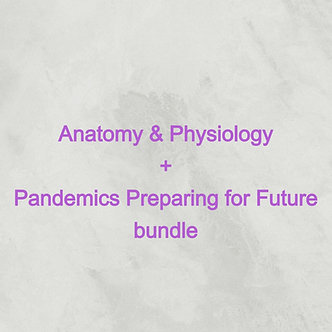 30 AARC CRCE: Anatomy Physiology & Pandemic bundle