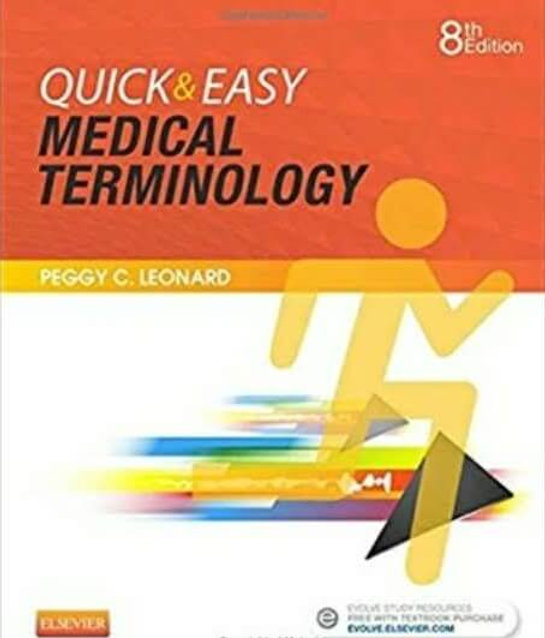 17 75 CE: Medical Terminology Quick & Easy - 17% off Try&Buy