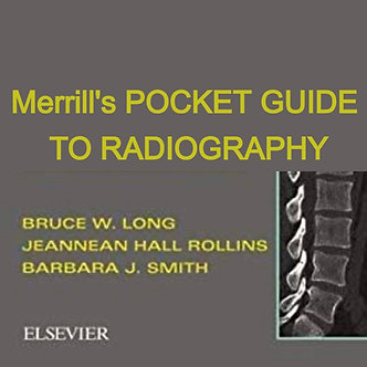 12CE: Merrill's Pocket Guide to Radiography