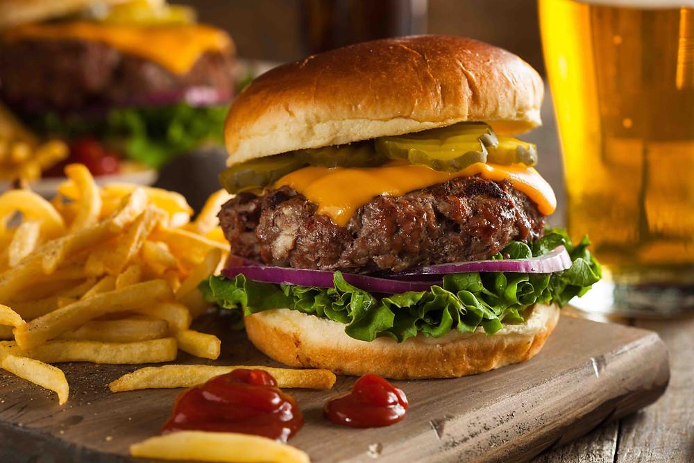 Colesterol Hambúrguer