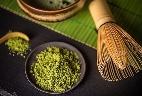 Matcha um tipo de chá verde