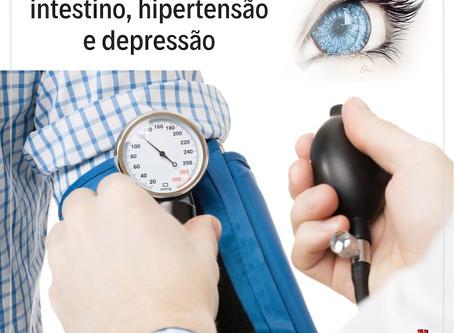 Relação entre intestino, hipertensão e depressão