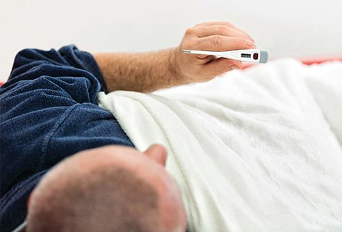 Febre febril adulto termômetro