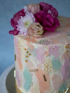4 layers Vanilla & Raspberry