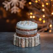4.Christmas Cake - midi iced