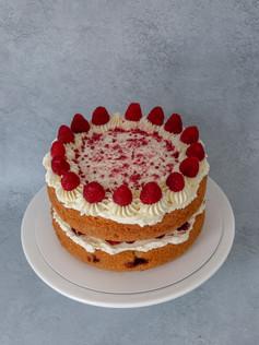 2 layers White chocolate & Raspberry
