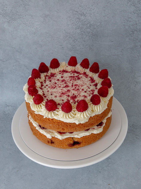2 layers White chocolate & Raspberry