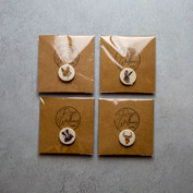 43. Porcelain pin badges