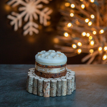 5.Christmas Cake - mini iced
