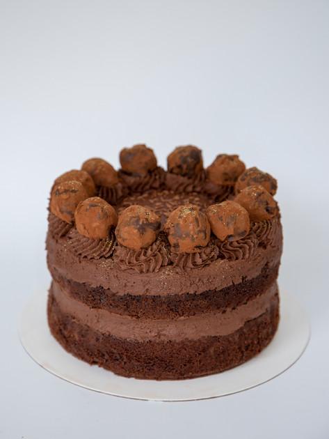 2 layers Chocolate Rum Truffle