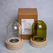 40. Booze and Burn tealight lantern