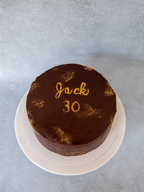 2 layers Chocolate Fudge