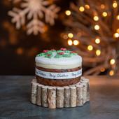 7.Christmas Cake - midi iced