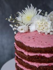 7 inch  6 layers Chocolate & Raspberry